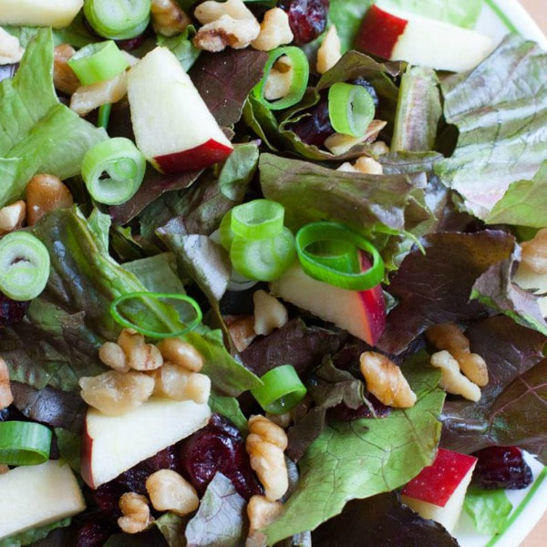 Apple Cranberry Salad Toss