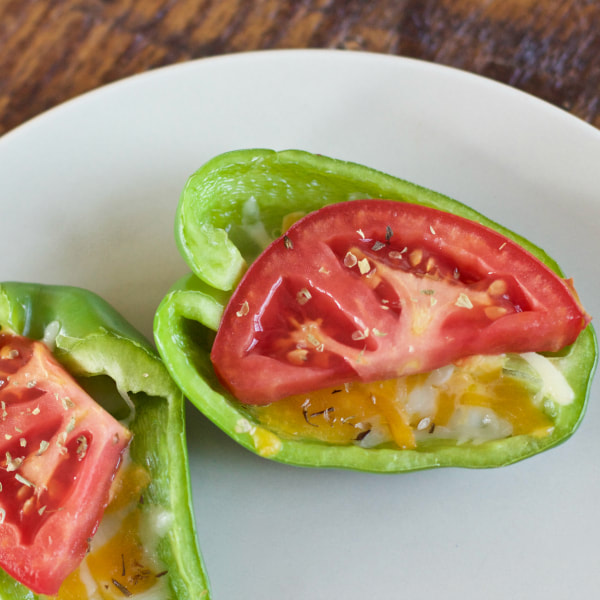 Bell Pepper Pizzas Photo