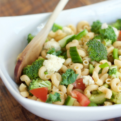 Pasta Salad with Mixed Vegetables