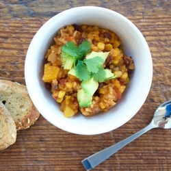 Southwestern Sweet and Spicy Chili