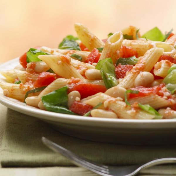 Tuscan Pasta with Canellini Beans
