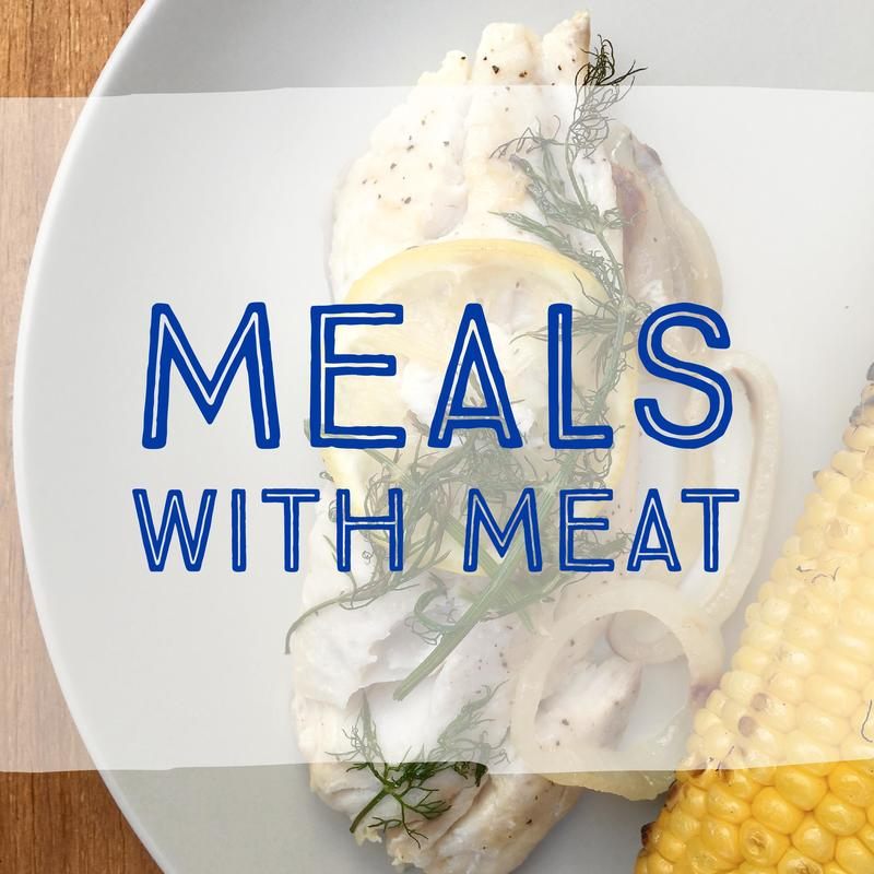 Picture Meals with Meat