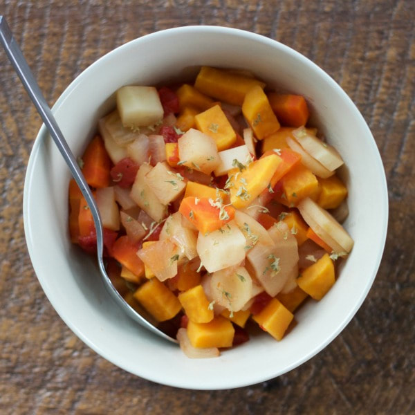Crock Pot Root Vegetable Stew