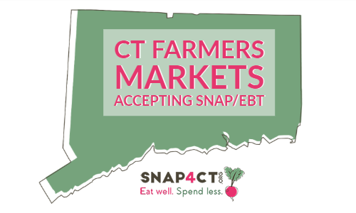 CT Farmers Markets Accepting SNAP / EBT