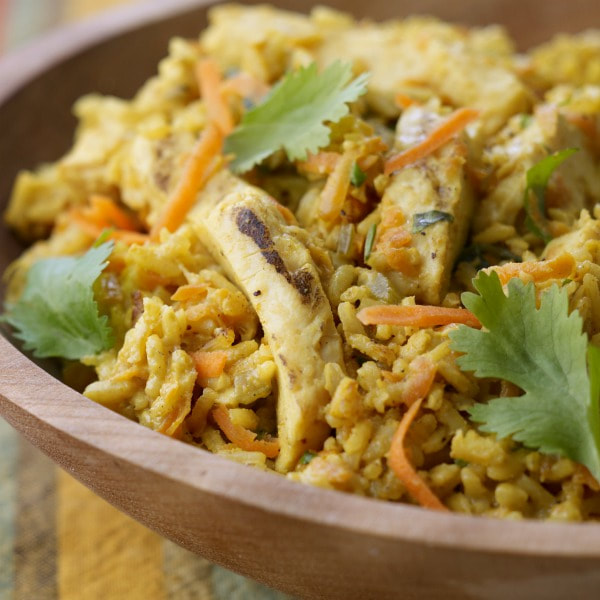 Curried Chicken and Rice Casserole