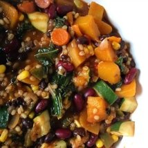 Bean, Vegetable and Barley Chili