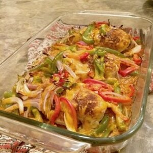 Fajita Chicken Bake