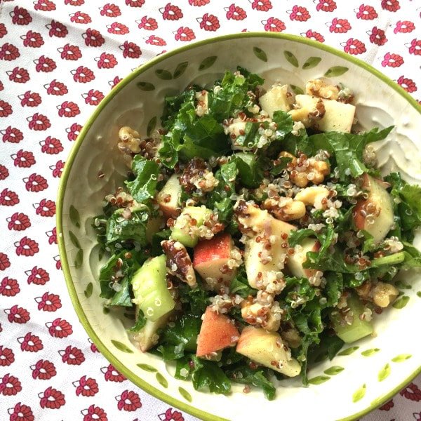 Fall Kale and Quinoa Salad