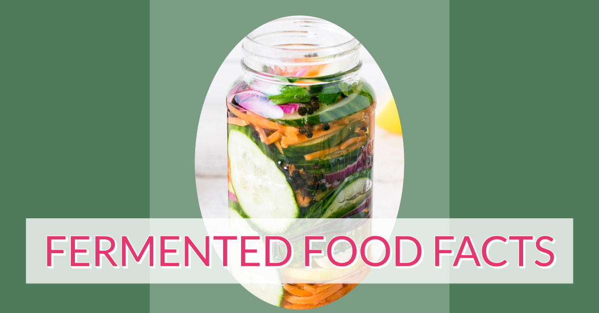 Fermented Food Facts