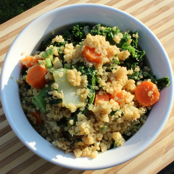 Healthy Vegetable Fried Quinoa