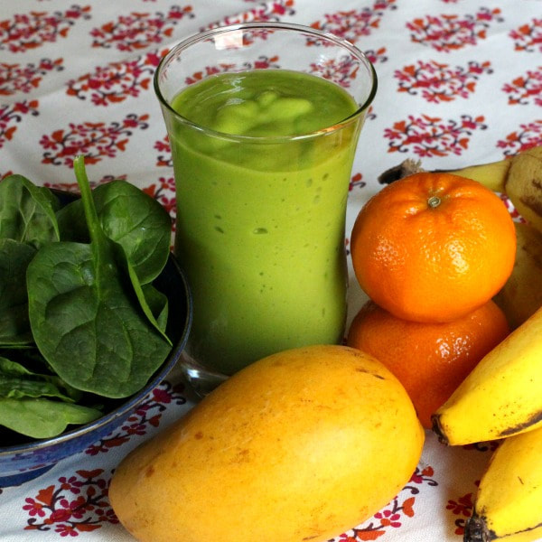 Mango Green Smoothie