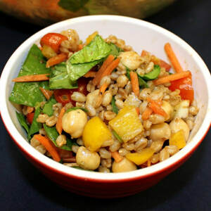Colorful Farro Salad