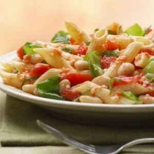 Tuscan Style Pasta with Cannellini Beans